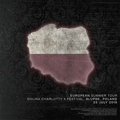 European Summer Tour 2016 Dolina Charlotty X Festival, Slupsk, Poland - 25 July 2016