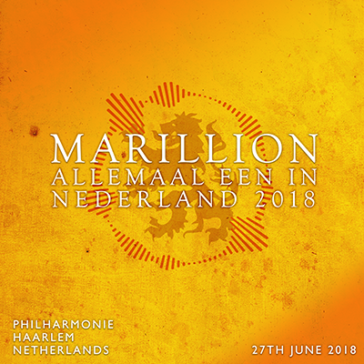NL TOUR 2018 PHILHARMONIE, HAARLEM - 27TH JUNE 2018
