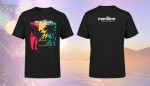 Cruise To The Edge 2020 Men's Black T-Shirts