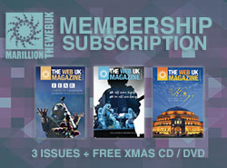 WebUK Membership 3 Issues