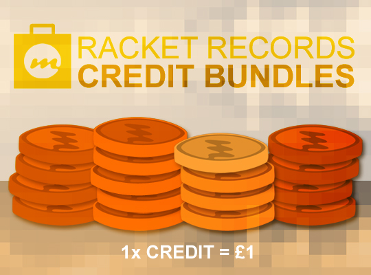 10 Racket Credits Credits Bundle